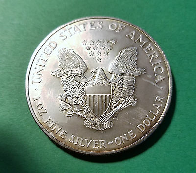1998 The American Eagle Silver Coin