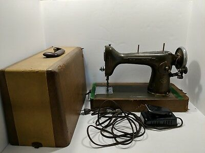 VINTAGE ANTIQUE WESTINGHOUSE New Home Light Running Foot Pedal Gorgeous New Home Sewing Machine Foot Pedal