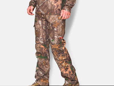 63ee1726911e7 $90 UA Under Armour Storm Performance Field Men's Camo Hunting Pants 42/32