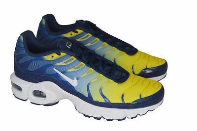 JUNIORS NIKE AIR Max Plus (GS) - 655020038 - Black Gold Red Trainers ... 1ee365fb2