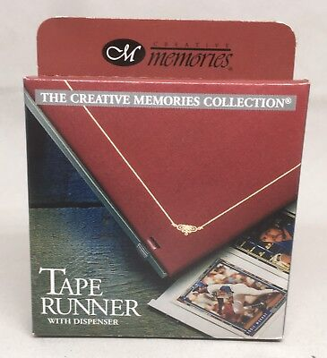 Creative Memories Tape Runner with Dispenser Double Sided 33 ft Scrapbooking New