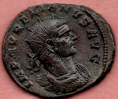 Aurelian Antoninianus silvered UNRESEARCHED ROMAN BRONZE COIN UK FIND LOVERS crd