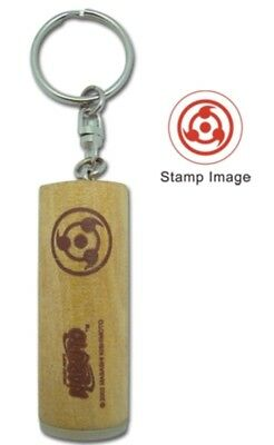 Naruto Stamp Logo Keychain Key Chain Anime Manga Official Licensed New