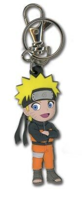 Naruto Shippuden Naruto Keychain Key Chain Anime Manga Official Licensed New