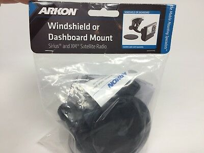 Windshield Dash Suction Car Mount for XM and Sirius Satellite Radios Single T...
