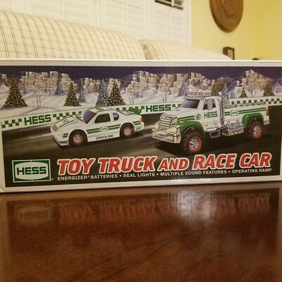 Hess 2011 New Toy Truck & Racer Car Set - Great Gift