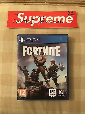 Fortnite Physical Game Disc Ps4 100 00 Picclick Uk