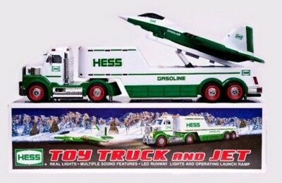 """2010 New Hess Truck & Jet """"collectors Item"""" Great Christmas Gift"""
