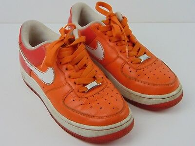 NIKE AIR AIR Force Xxv Air Force 1 Patterson Square Limited Edition Orange Blue