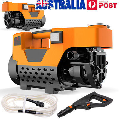 Pro Electric High Pressure Water Cleaner Washer Gun Hose Pump Cleaning Gurney AU