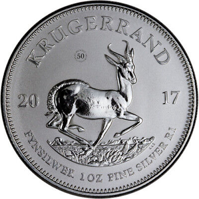 2017 1oz Silver Krugerrand PU - including Certificate of Authenticity