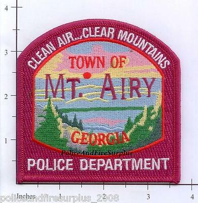 Georgia - Mount Airy GA Police Dept Patch