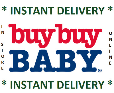Buy Buy Baby 20% Off Coupon Single Item In Store & Online ***INSTANT DELIVERY***