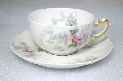 Wm Guerin Limoges Antique (1891~1932) Cup and Saucer
