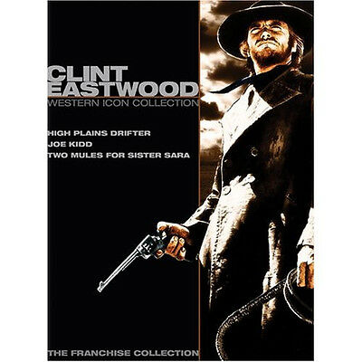 Clint Eastwood: Western Icon Collection - 3 films, 2 DVDs - Universal