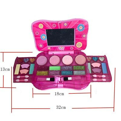 Makeup Set Toy For Kids Cosmetic Beauty Girls Kit Eye shadow Lip Gloss Blushes