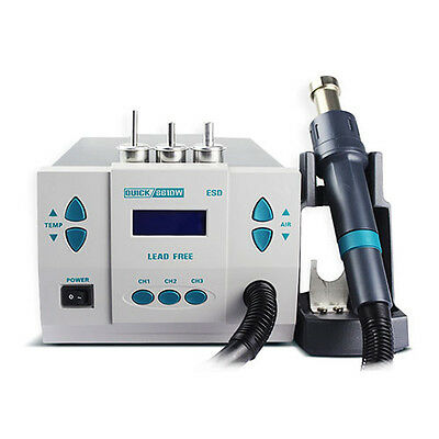 Quick 861DW Digital Heat Gun Soldering Rework Station Original 45° Nozzle Sleeve
