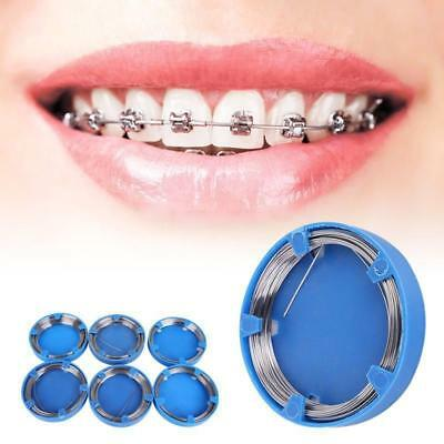 Stainless Steel Wire Tooth Correction Orthodontic Appliance Trainer Dental Tool