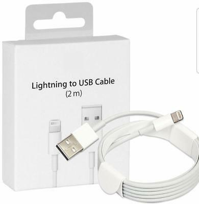 LOT 1,3,5,10 New 2m/6ft Apple Lightning to USB Charge Cable for iPhone 6s/7+/7/8