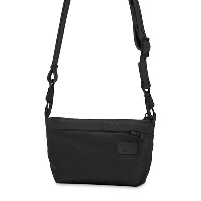 NEW Pacsafe CitySafe CS25 Anti-Theft Cross Body Hip Purse Blk