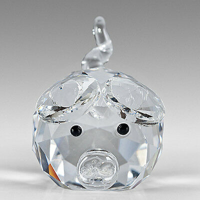 Crystal Mini Pig Figurine,Perfect Gift Idea this Christmas NEW & BOXED