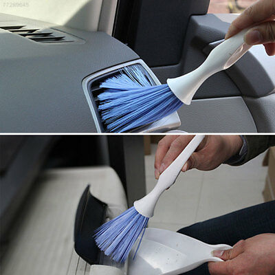 FEBC Car Duster Cleaner Dashboard Air Interior Vent Cleaning Brush Dustpan Kit