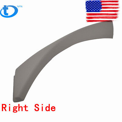 Inner Door Panel Handle Pull Outer Trim Cover For BMW 3-Series E90 R Side Gray