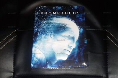 PROMETHEUS FILMARENA WEA Exclusive 3D+2D Blu-ray Steelbook Unnumbered Edition