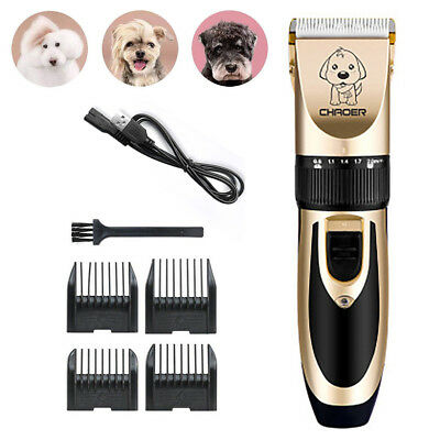 Rechargeable Cat Dog Hair Trimmer Electrical Clipper Cutter Machine For Pet