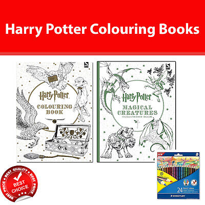 Harry Potter Colouring and Quiz books Childrens Activity collection set pack NEW