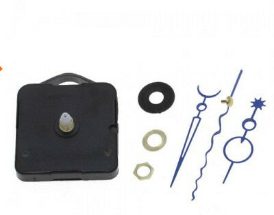 DIY Quartz Clock Movement Mechanism Hands Wall Repair Tool Parts Silent Kit Set