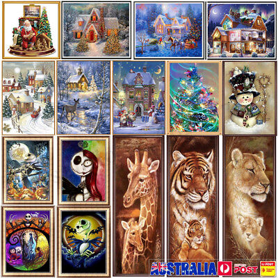 Chrismas Full Drill DIY 5D Diamond Painting Embroidery Cross Crafts Stitch Kit