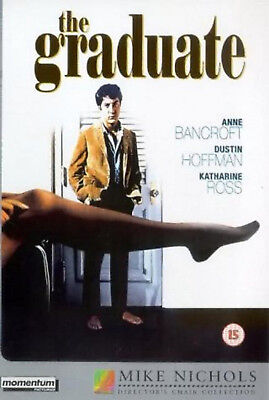 THE GRADUATE DVD Murray Hamilton Richard Dreyfuss William Daniels UK Rele NEW