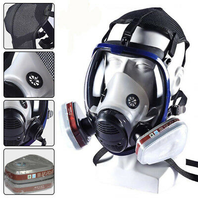 7 in 1 Facepiece Respirator Painting Spraying For 3M 6800 Full Face Gas Mask UK
