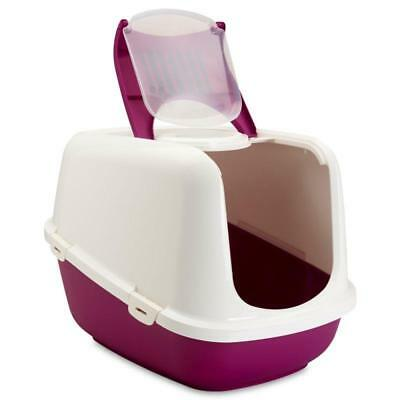 Extra Large Cat Covered Litter Tray Hygienic XXL Kitten Toilet + Carbon Filter