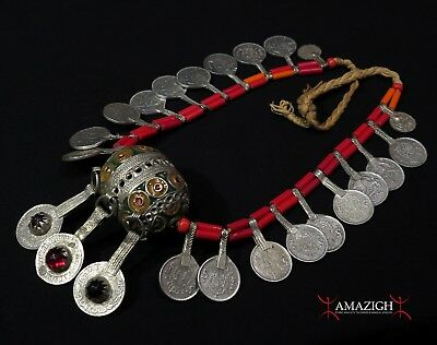 Old Berber Necklace – Tagmout – South Morocco
