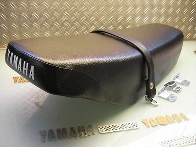 New Original Yamaha Double 66Cm Seat Complete With Band And Brackets Xt500 80-89