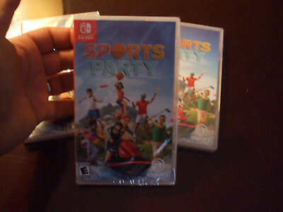 Sports Party Nintendo Switch  New Sealed Us Edition Golf Basketball Beach Tennis
