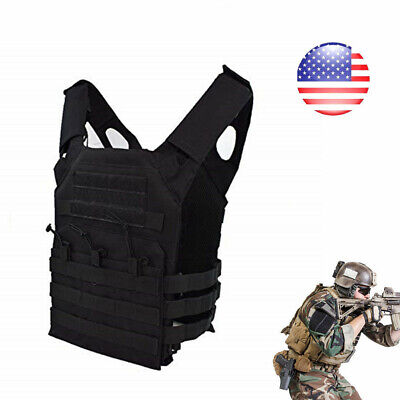 Tactical Vest Adjustable Military Army Molle Combat Airsoft Hunting ACU Camo