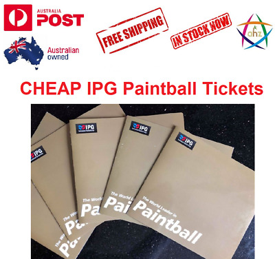 10 Tickets for International Paintball Group (IPG) - MEGA SAVING! GET IN QUICK!