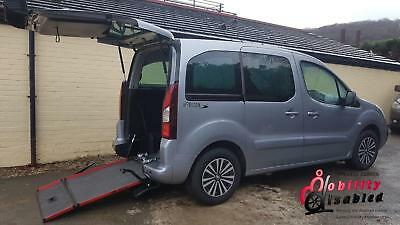 2017 Peugeot Partner Tepee Allure Blue HDi Wheelchair Disabled Accessible Vehicl