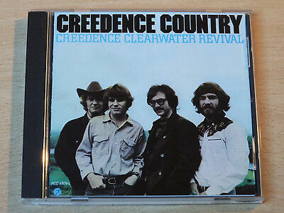 Creedence Clearwater Revival/Creedence Country/CD Album/Made in West Germany