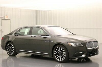 2018 Lincoln Continental 2018 AWD BLACK LABEL THOROUGHBRED MSRP $77570 CONTINENTAL TECHNOLOGY ALCANTARA HEADLINER JET BLACK VENETIAN LEATHER