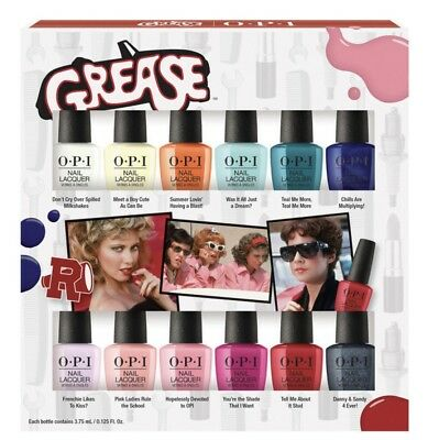 OPI Nail Polish Lacquer GREASE Collection Mini 3.75ml Free Postage