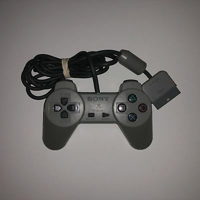 Official Sony Playstation PS1 Gray Controller OEM ~ Free Shipping ~