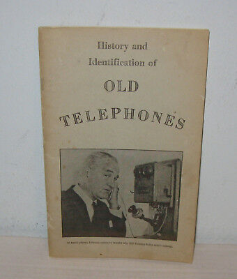 History And Identification Of Old Telephones Lbj 1971 Booklet Illust Melrose Wi