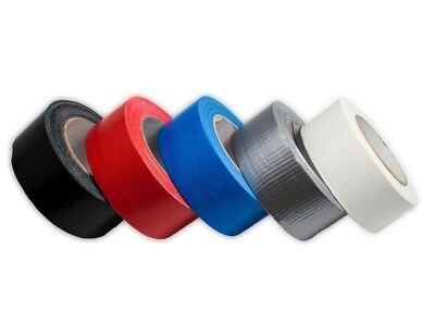 Heavy Duty Waterproof Tape 50m Poly Coated Woven Cloth Duct Tape Multi Purpose