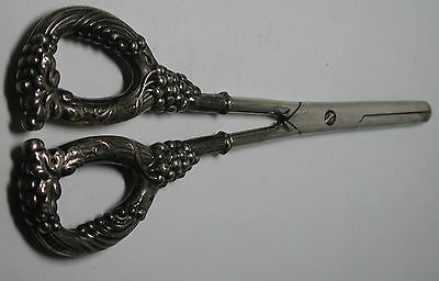 Antique Vintage Sterling Silver Scissors Matching Shoe Horn Previously #N709