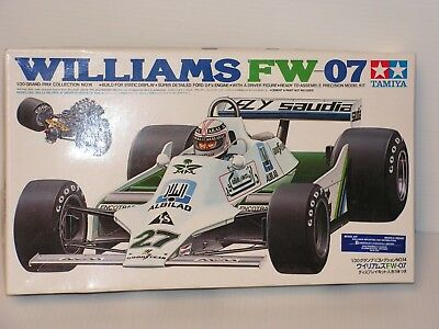 Tamiya #20014 1/20 Williams Fw 07 Open/complete