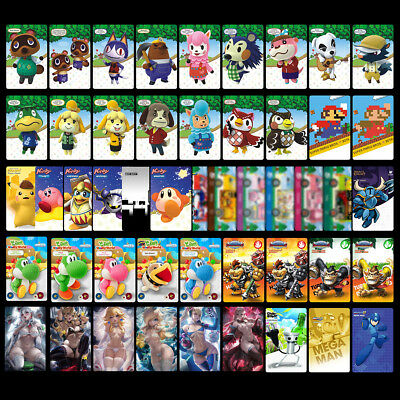 49PCS PVC NFC Cards for Animal Crossing Kirby | Lingerie Peach Bowsette Booette